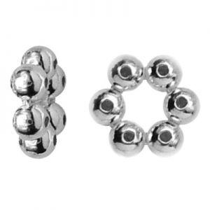 Silber abstandhalter strang runden - KW 1 5x1,8 mm