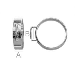 Ring mit schlaufen - OB 5,0