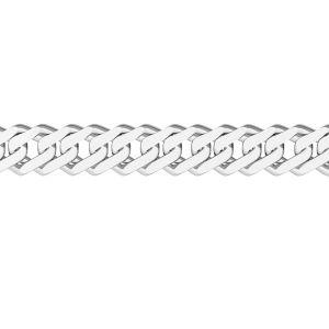 Schüttgutkette - rombo*silber 925*RD  60
