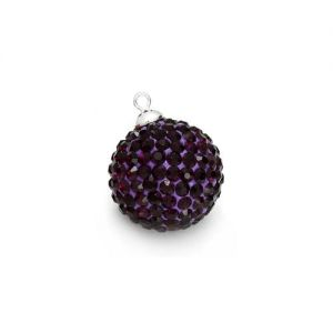 DISCOBALL AMETHYST 10 MM