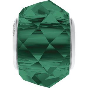 5948 MM 14,0 EMERALD STEEL - BeCharmed Briolette Bead