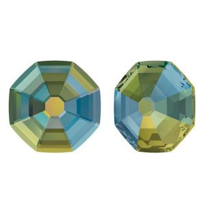 2611 MM 8,0 CRYSTAL IRIDESCENT GREEN  F