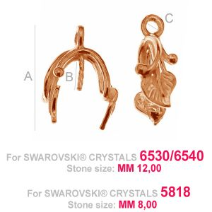 Blatt kaution silber - ODL-00115 (6530 / 6540 / 6818)