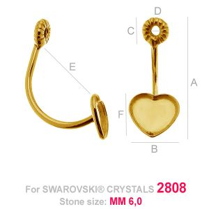Swing Ohrringe Rivolii - HKSV 2808 6MM