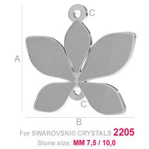 Blatt anhänger (2205) - LK-0584
