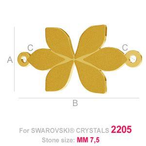 Blatt anhänger (2205 MM 7,5) - LK-0584