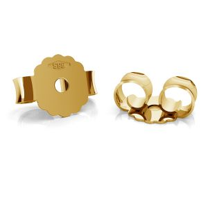 Gold ohrstecker ohrmutter BARZ 2 - AU 585,14K