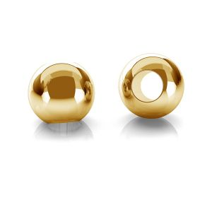 Gold rund perlen kugel 14K P2LZ 2,0 F:0,9