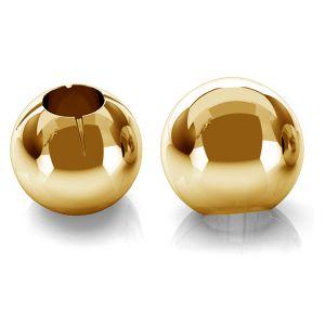 Gold rund perlen kugel 14K P1FZ 3,0 F:0,9