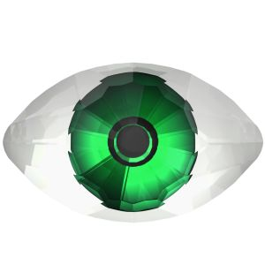 4775 MM 18,0X 10,5 CRYSTAL CALVPRO P MD290- GREEN