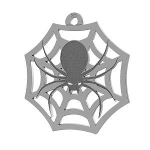 Spinne halloween anhänger, LK-1020 - 0,50