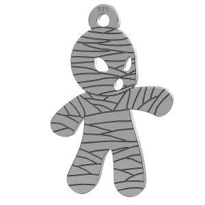 Mumie halloween anhänger, LK-1018 - 0,50