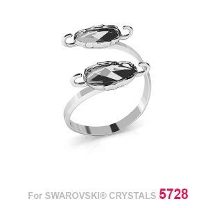 Doppelt ring Skarabäus 12mm S-RING 015 (5728 MM 12)