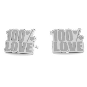 100% Love ohrringe LK-1193 - 0,50 - KLS