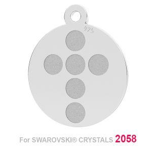 Kreuz anhänger (2058 SS 7), LK-1175 - 0,50 ver.1