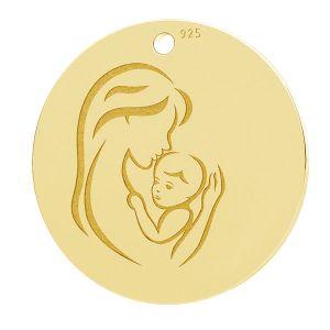 Mutter und kind anhänger, LK-1290 - 0,50