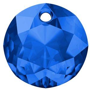 Classic Cut Pendant, Swarovski Crystals, 6430 MM 8,0 SAPPHIRE