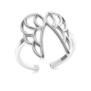 Flügel ring, silber 925, ODL-00320
