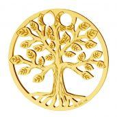 Baum des lebens anhänger, 14K gold, LKZ-01305 - 0,30
