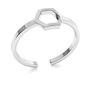 Unendlichkeitszeichen ring, silber 925, ODL-00349