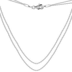 Basis für halsketten, silber 925, S-CHAIN 16 (A 030)
