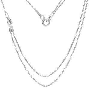 Basis für halsketten, silber 925, S-CHAIN 19 (A 030)