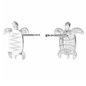 Schildkröte Ohrringe Swarovski, ODL-00368 KLS (2602 MM 8,0X 5,5)
