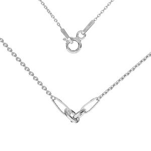 Kette basis für armband, sterling silber 925, S-CHAIN 2 (A 030)