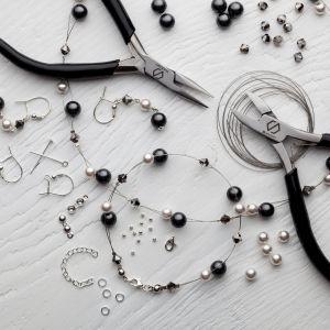DIY mach es selber armband, silber 925, Swarovski, DIY with SILVEXCRAFT  NO.02004