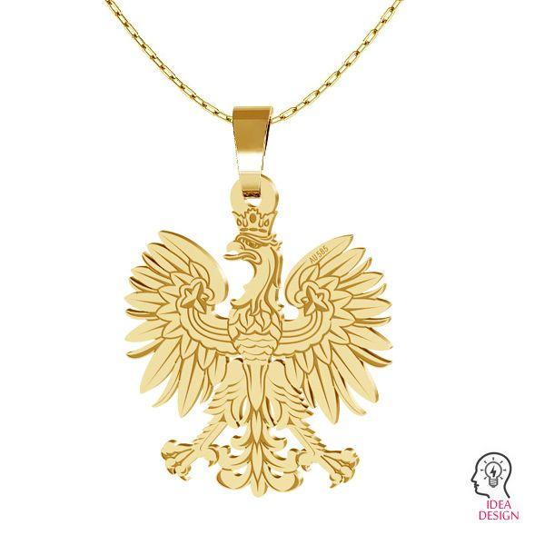 Klee anhänger, 14K gold LKZ-00471 - 0,30