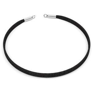 Choker alcantara halskette basis S-CHAIN 25 - 36 cm