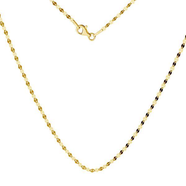 Anker kette gold 14K, SG-FBL 030 AU 585, 14K - 50 cm