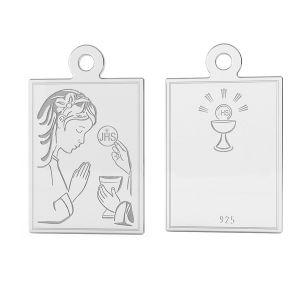 Medaillon sterling silber, LK-1488 - 0,50