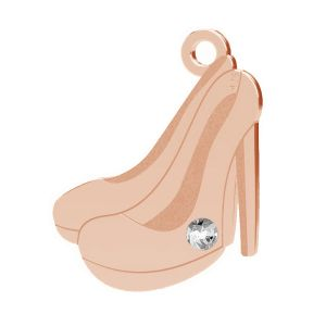 High heels anhänger, sterling silber 925, LK-1496 - 0,50