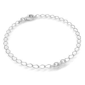 Armband base, sterling silber 925, S-BRACELET 9 (R1 50)
