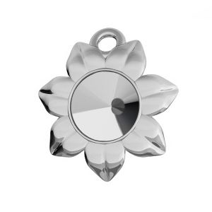 Blume anhänger Swarovski Rivoli 6 mm, ODL-00448 (1122 SS 29)