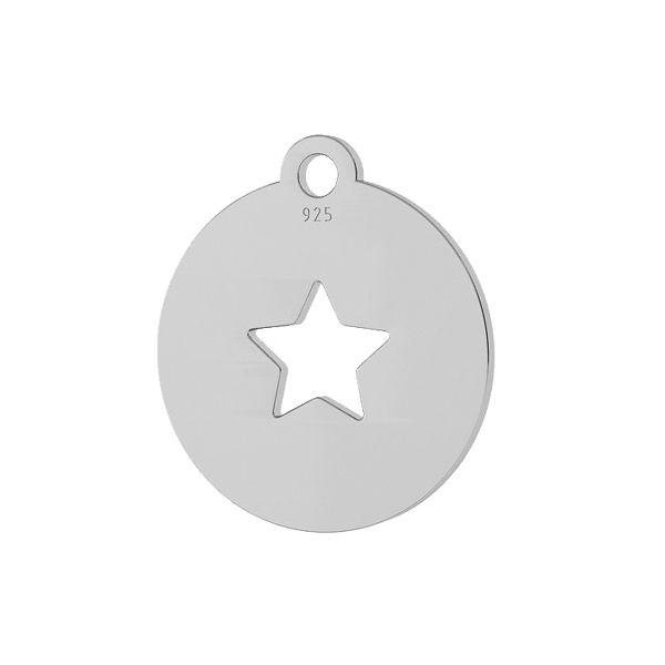 Star anhänger, silber 925, LKM-2048