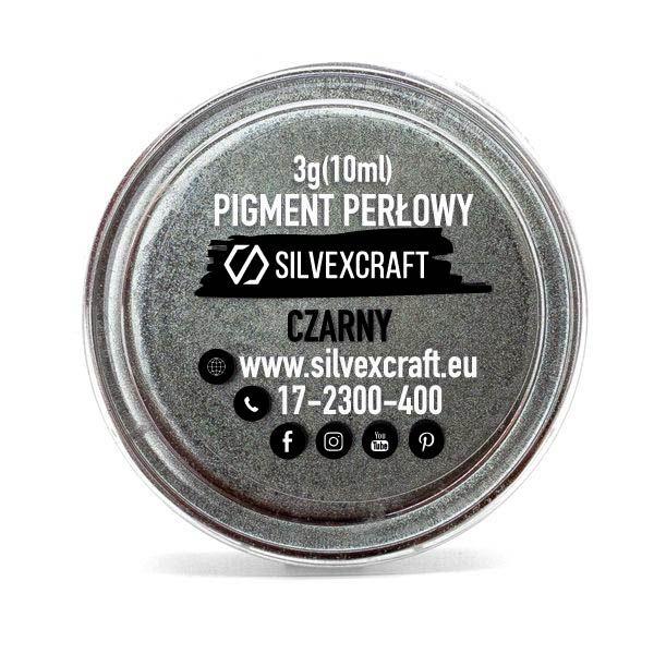Perlenpigment - schwarz, 3 g