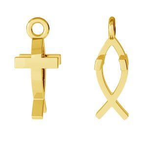 Kruzifix anhänger, silber 925, ODL-00471