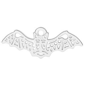 Fledermaus anhänger, silber 925, LK-1560 - 0,50