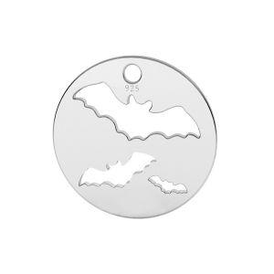 Fledermaus anhänger, silber 925, LK-1561 - 0,50