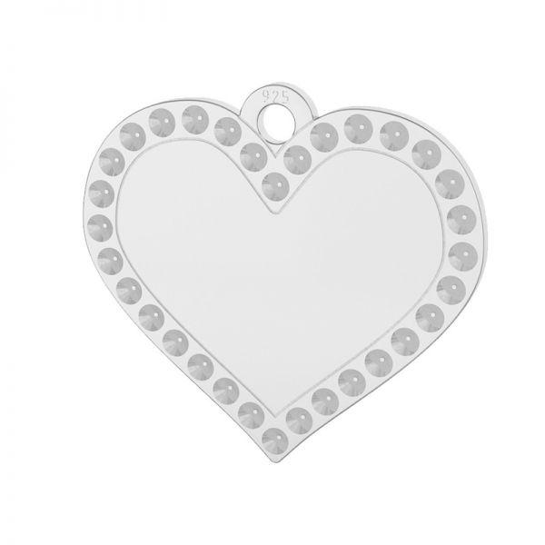 Herz anhänger, silber 925, LKM-2139 - 0,80 (1028 PP 4)