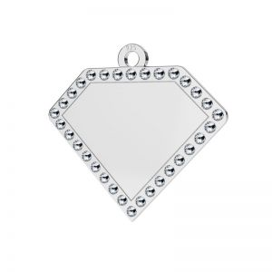 Diamant anhänger, silber 925, LKM-2142 - 0,80 ver.2