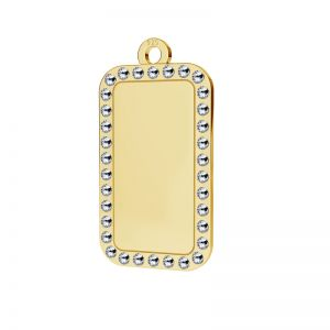 Diamant anhänger, silber 925, LKM-2140 - 0,80 ver.2