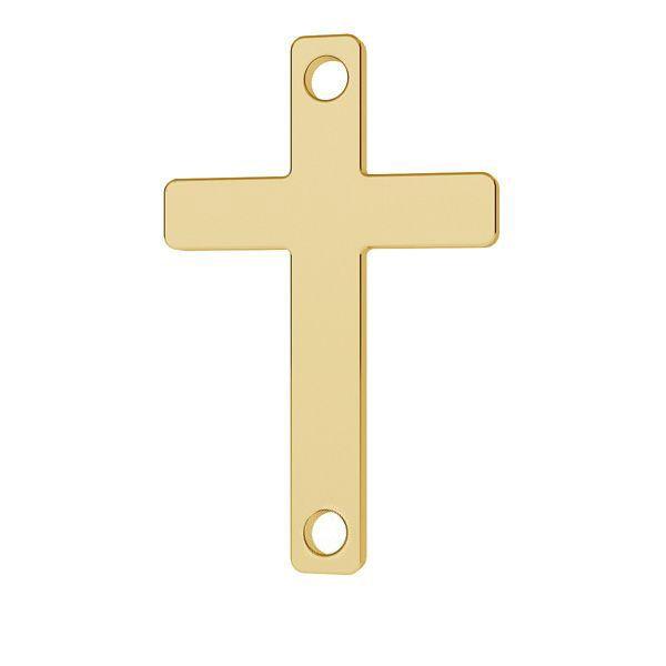 Kreuz anhänger 14K gold LKZ-01570 - 0,30