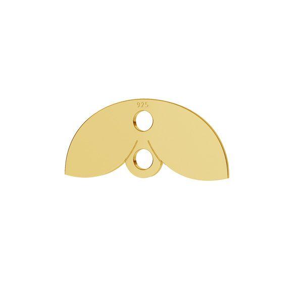 Rechteck oval anhänger, LKM-2166 - 05