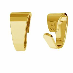 Anhängerschlaufe 14K gold LKZ-50008 - 03