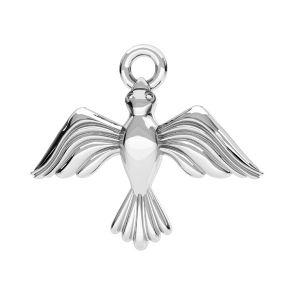 Vogel Anhänger Silber, silber 925, ODL-00608