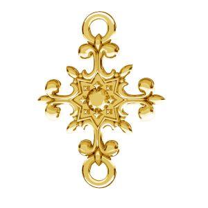 Kruzifix anhänger, silber 925, ODL-00600