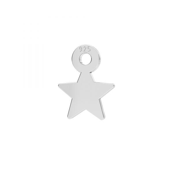 Stern mini anhänger silber 925, LKM-2336 - 0,50
